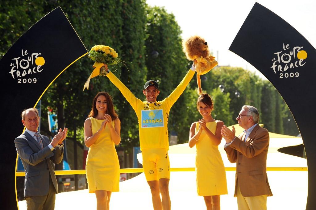 Alberto Contador, exciclista español.