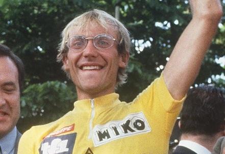Laurent Fignon, exciclista francés.