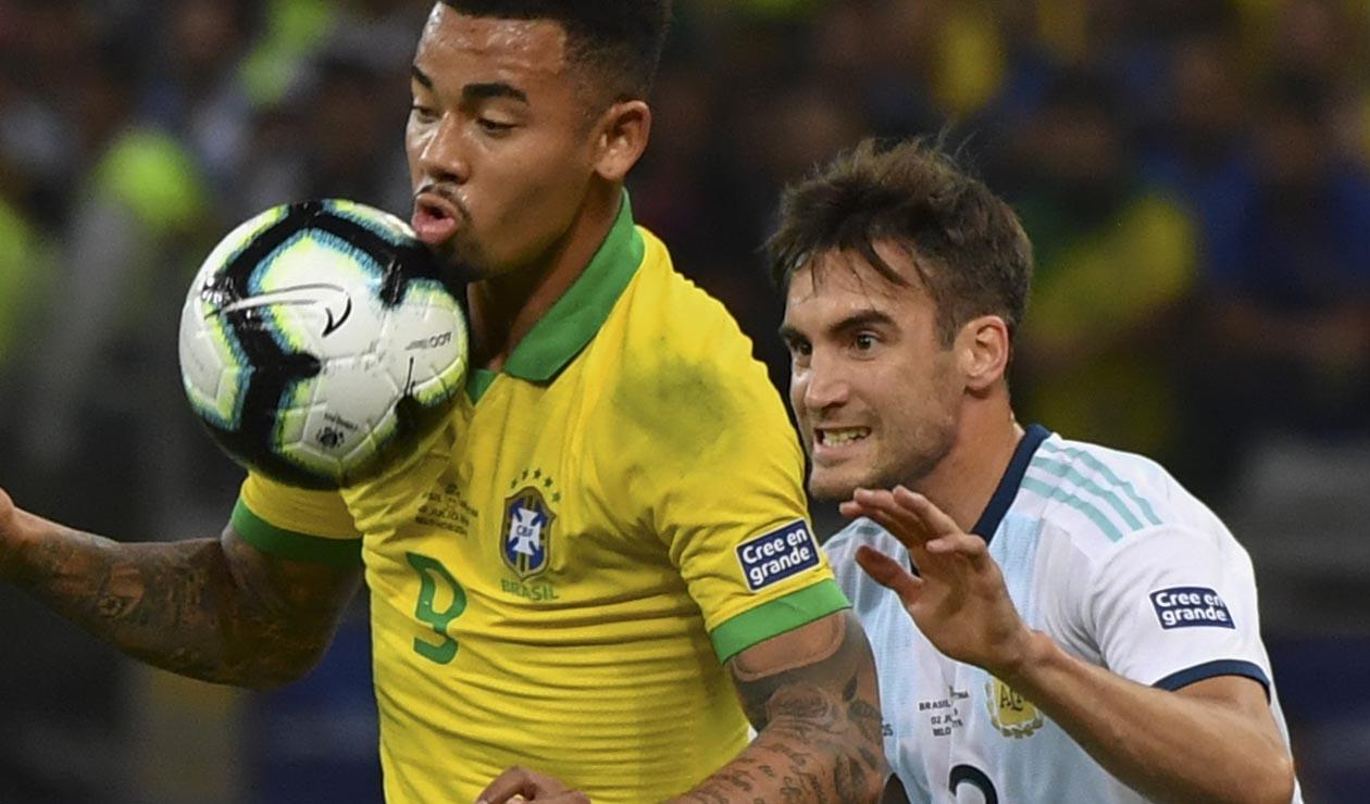 Brasil Vs Argentina Tagliafico Hablo Tras La Derrota Antena 2