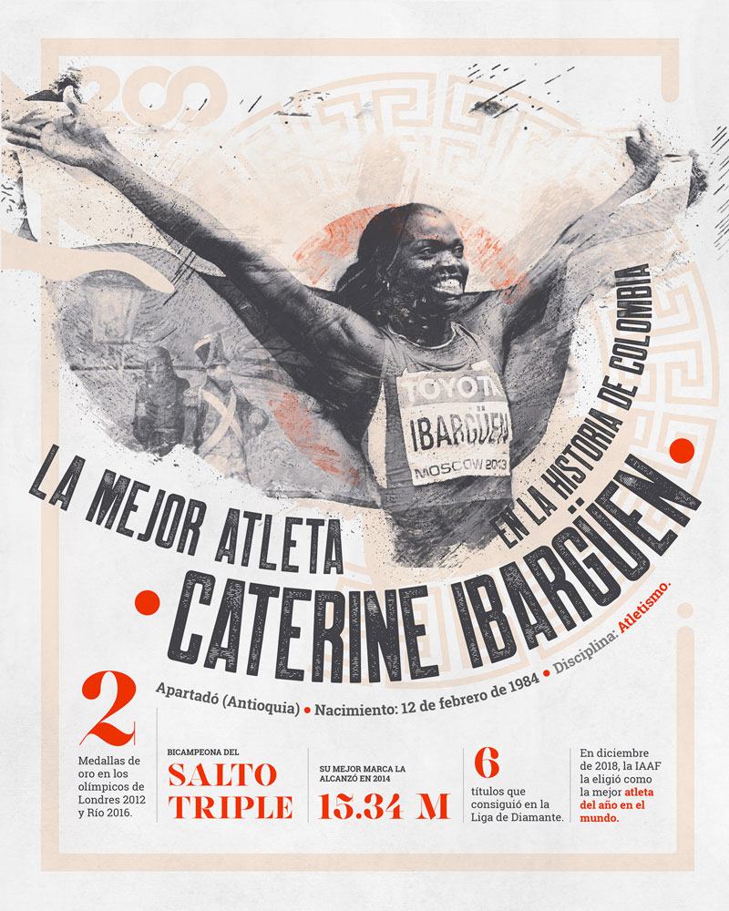 Bicentenario, Caterine Ibargüen