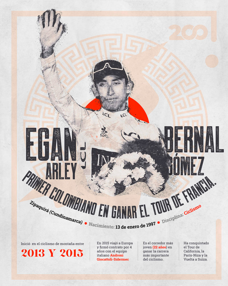 Bicentenario, Egan Bernal