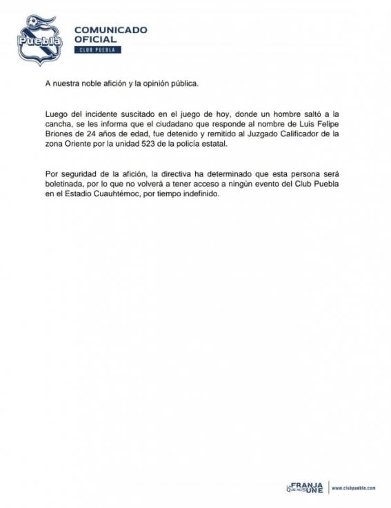 Comunicado de Puebla