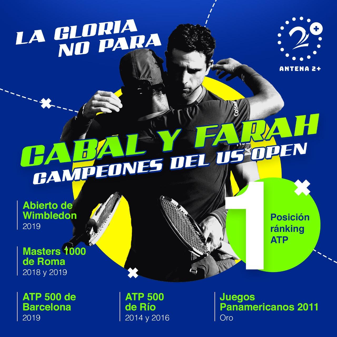US Open, Cabal, Farah
