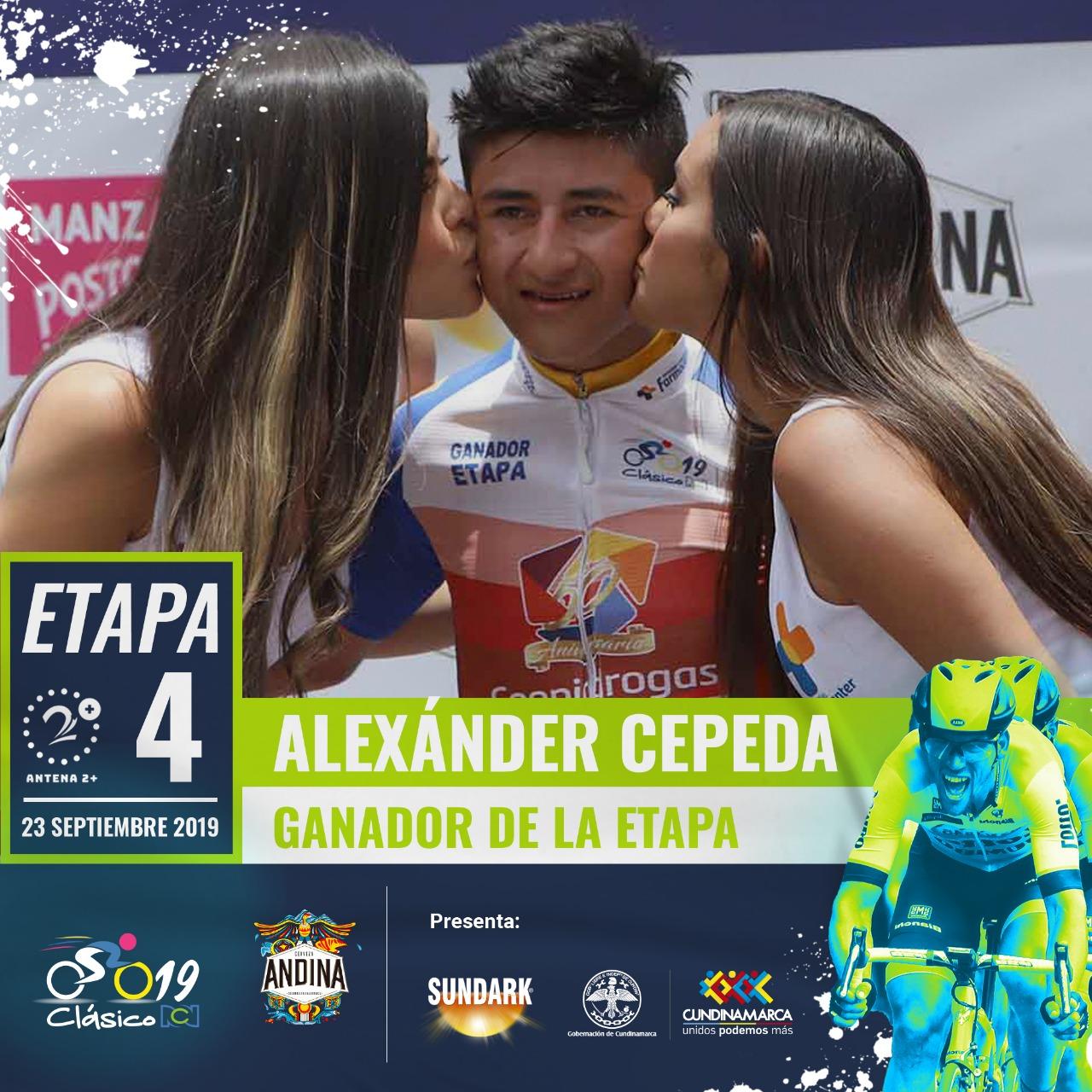 Alexánder Cepeda - Clásico RCN etapa 4