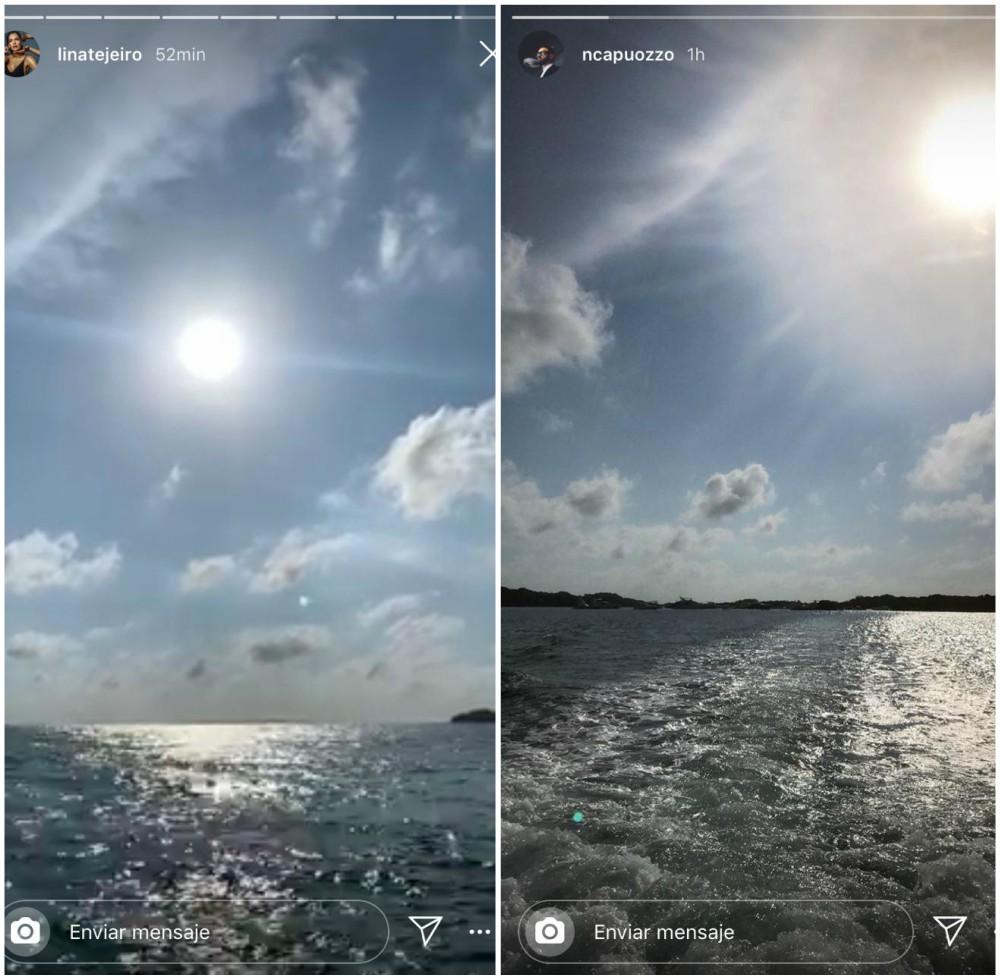 Norman y Lina estarían disfrutando juntos del sol, la playa y el mar