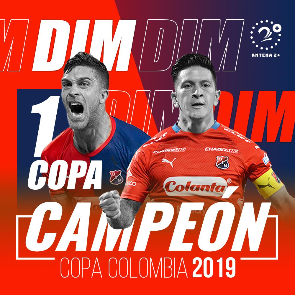 Medellín Campeón Copa Águila 2019