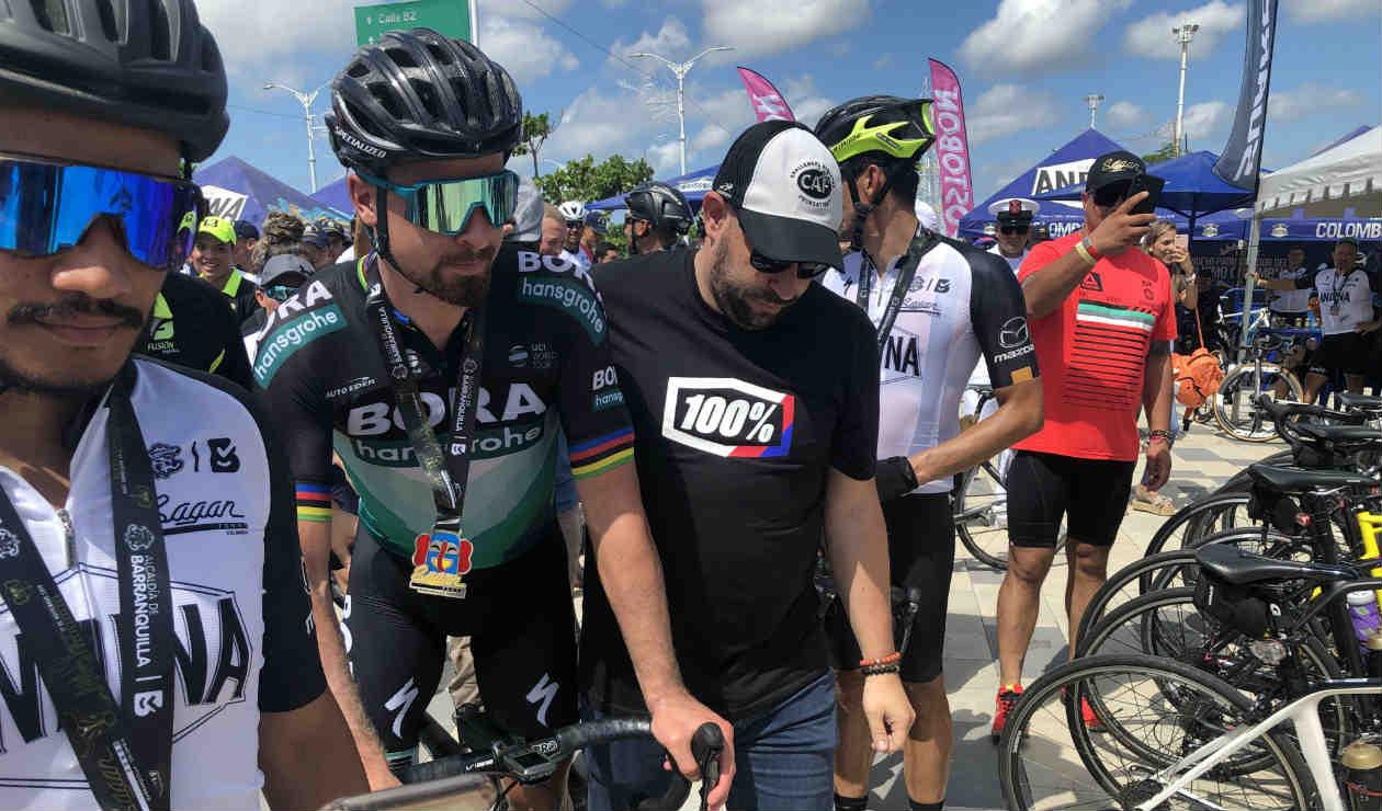 Peter Sagan encantó a los colombianos tras su Gran Fondo en Barranquilla - Antena 2