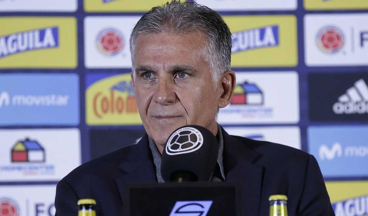 Selección Colombia: jugadores Europa y Queiroz están en Barranquilla | Antena 2