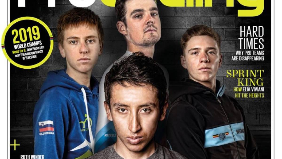 Egan Bernal, portada de la revista Procycling