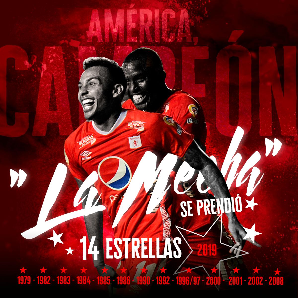América, campeón Liga Águila
