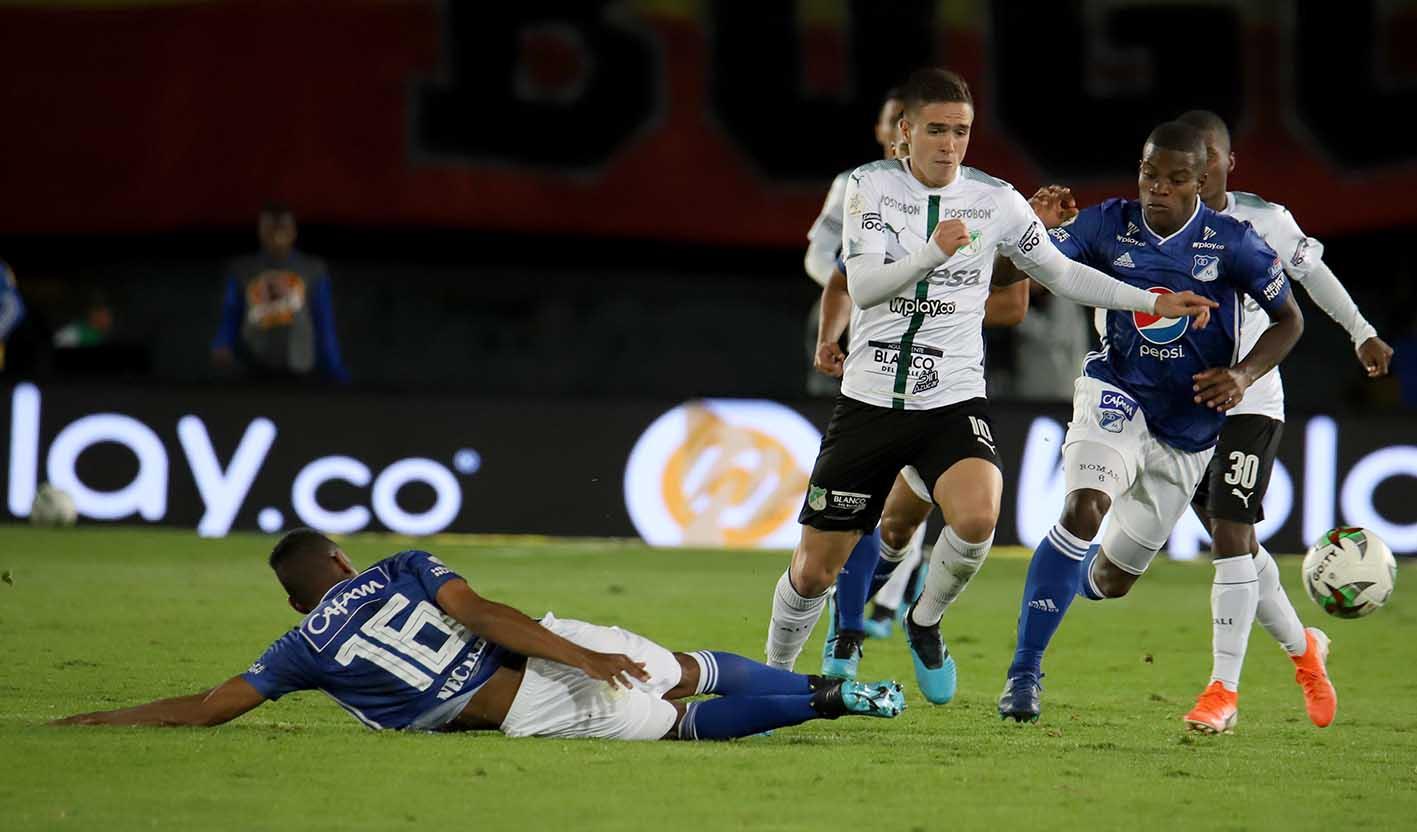 Deportivo Cali Vs. Millonarios, fecha 6 EN VIVO ONLINE - Liga BetPlay | Antena 2