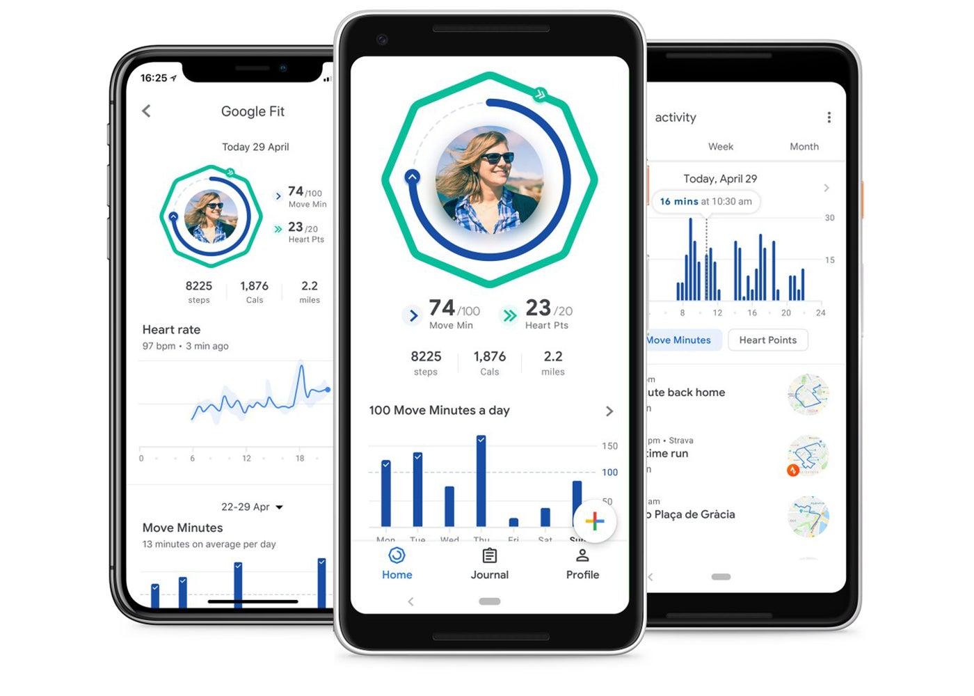 Google Fit, app para cuidar la salud