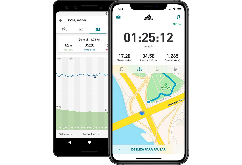 Runtastic, app para correr