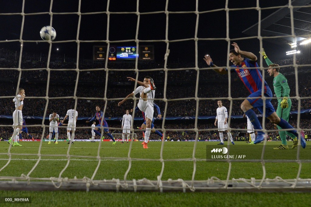 Fc Barcelona vs PSG, Champions League