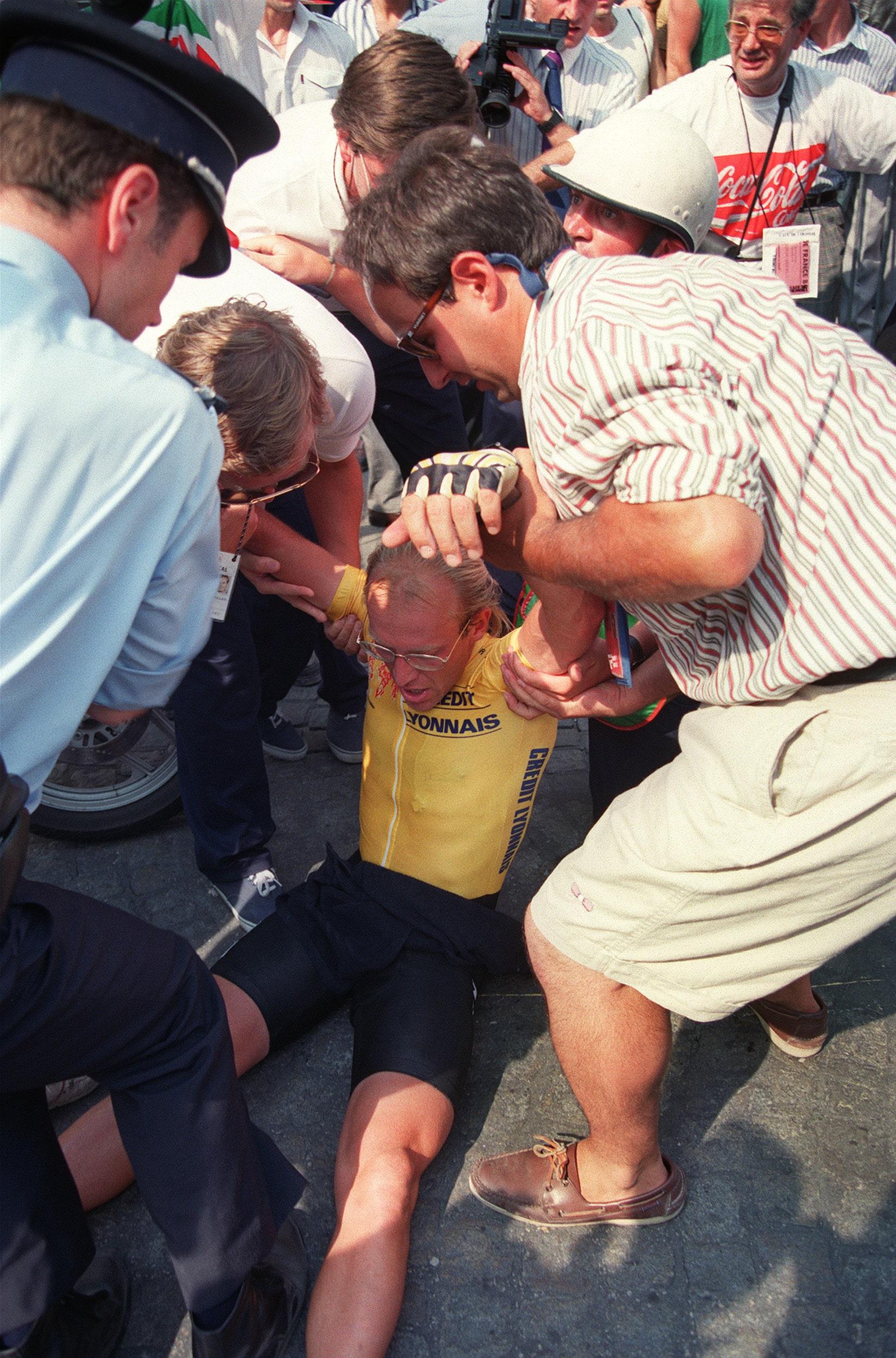 Fignon perdió el Tour de Francia en la contrarreloj final ante Greg Lemond