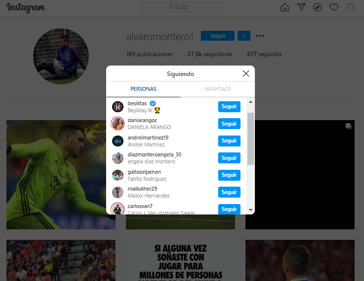 Alvaro Montero Instagram