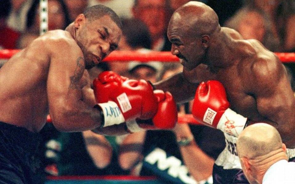 Mike Tyson descarta a Holyfield como su rival en vuelta al boxeo | Antena 2