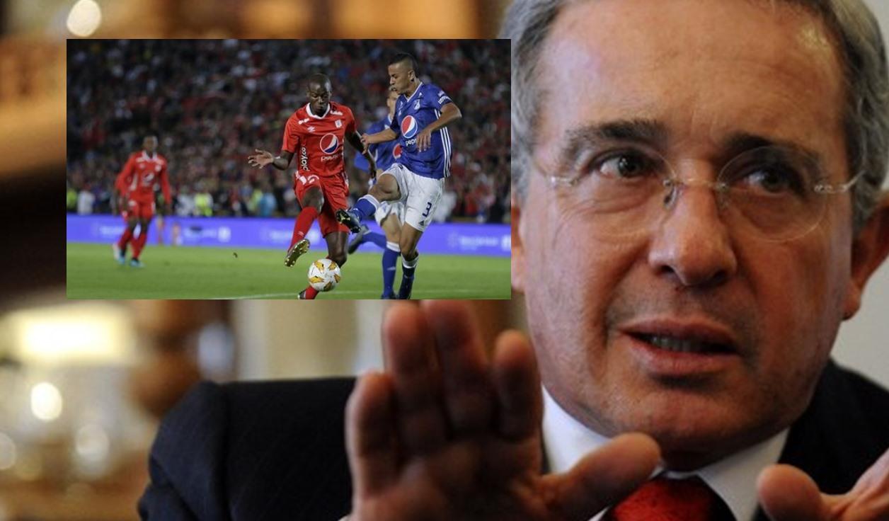 Fútbol colombiano: Álvaro Uribe propuso fechas para su regreso   Antena 2