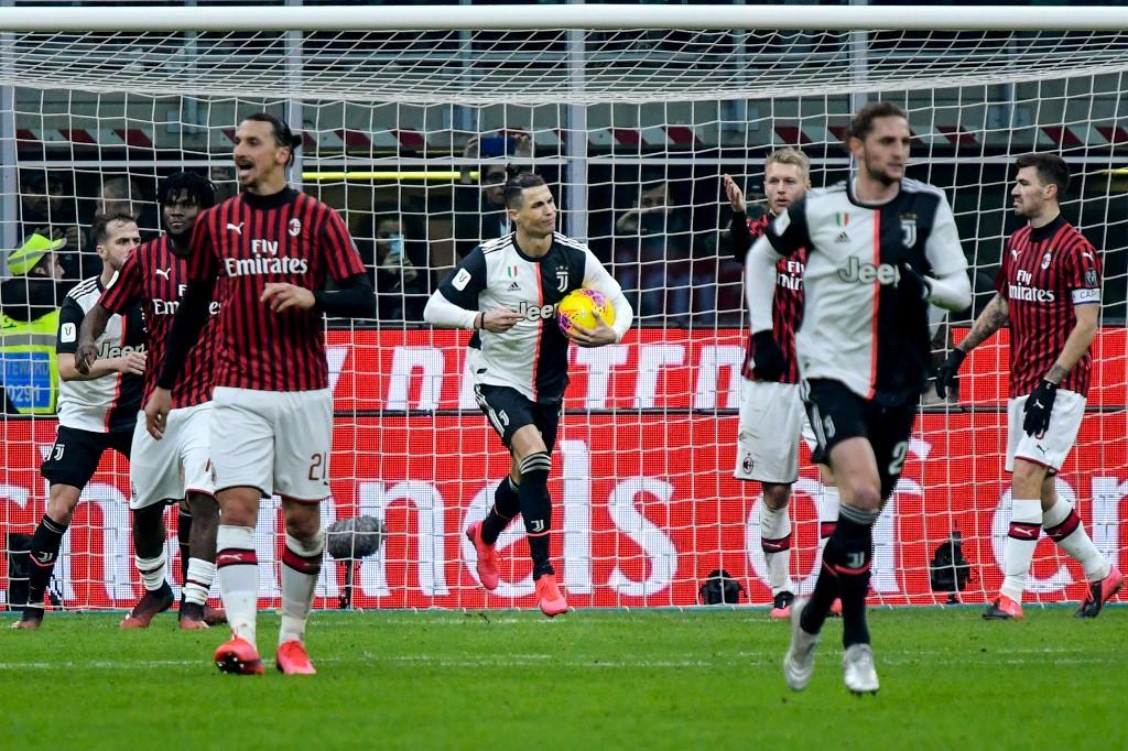 Juventus vs Milán EN VIVO semifinales Copa Italia | Antena 2