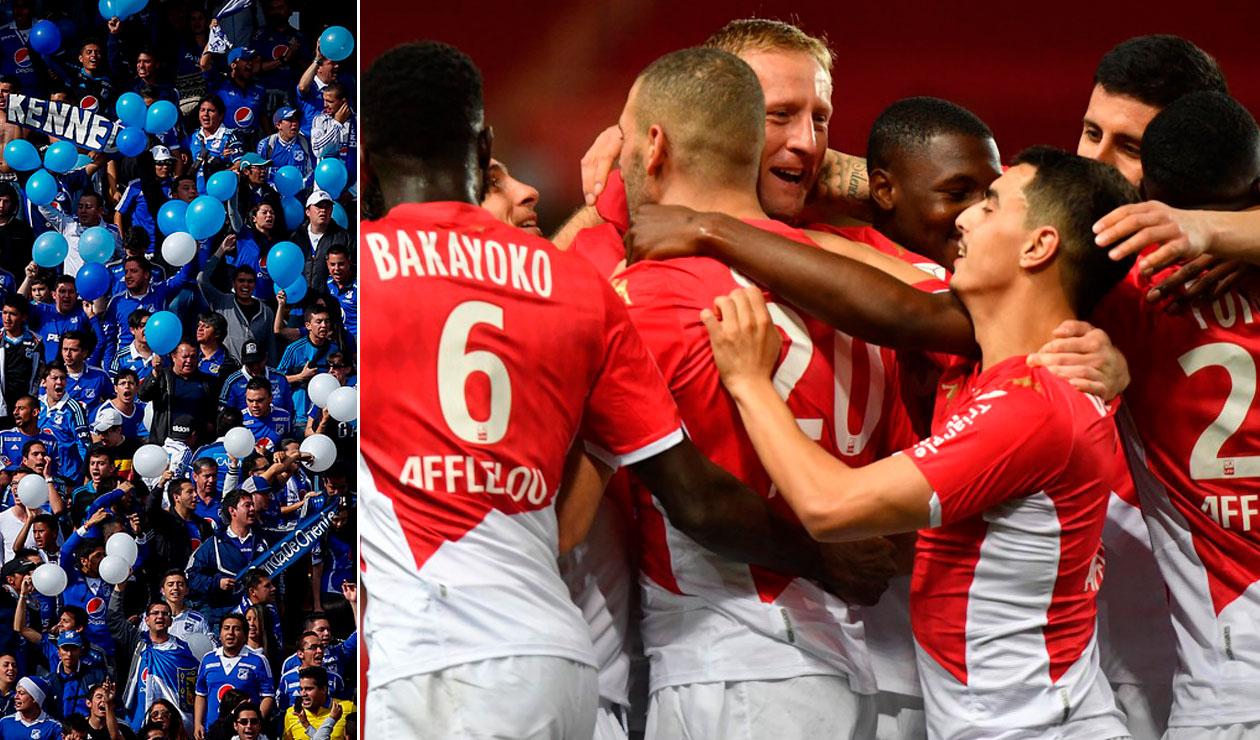 Mónaco y Lille celebran el cumpleaños 74 de Millonarios | Antena 2