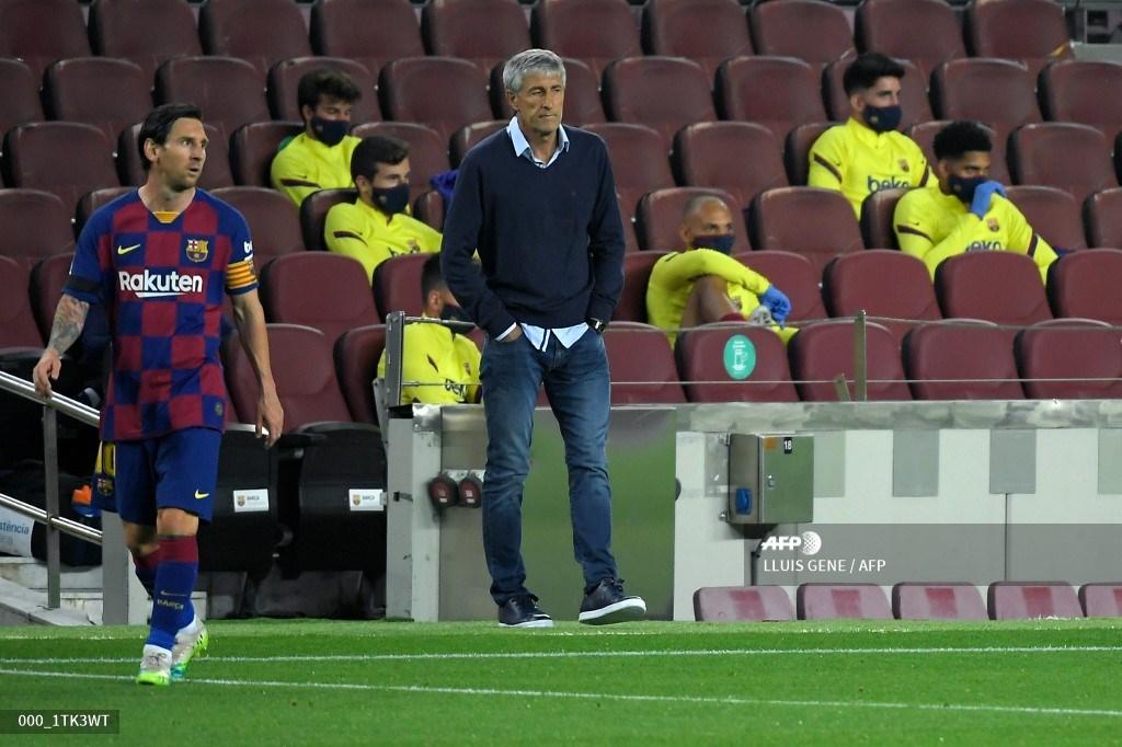 Barcelona: Quique Setién habló sobre su relación con Lionel Messi | Antena 2