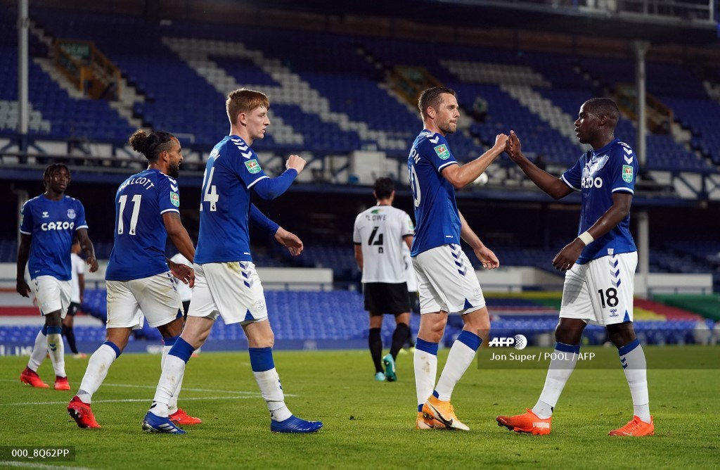Everton, sin James ni Yerry Mina, eliminó a Saldford: Copa de la Liga | Antena 2