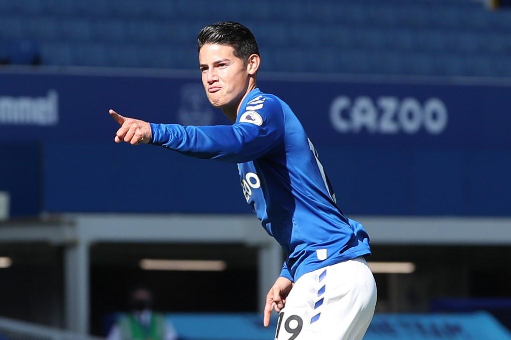 James agita a un Everton que volvió a ganar en la Premier | Antena 2
