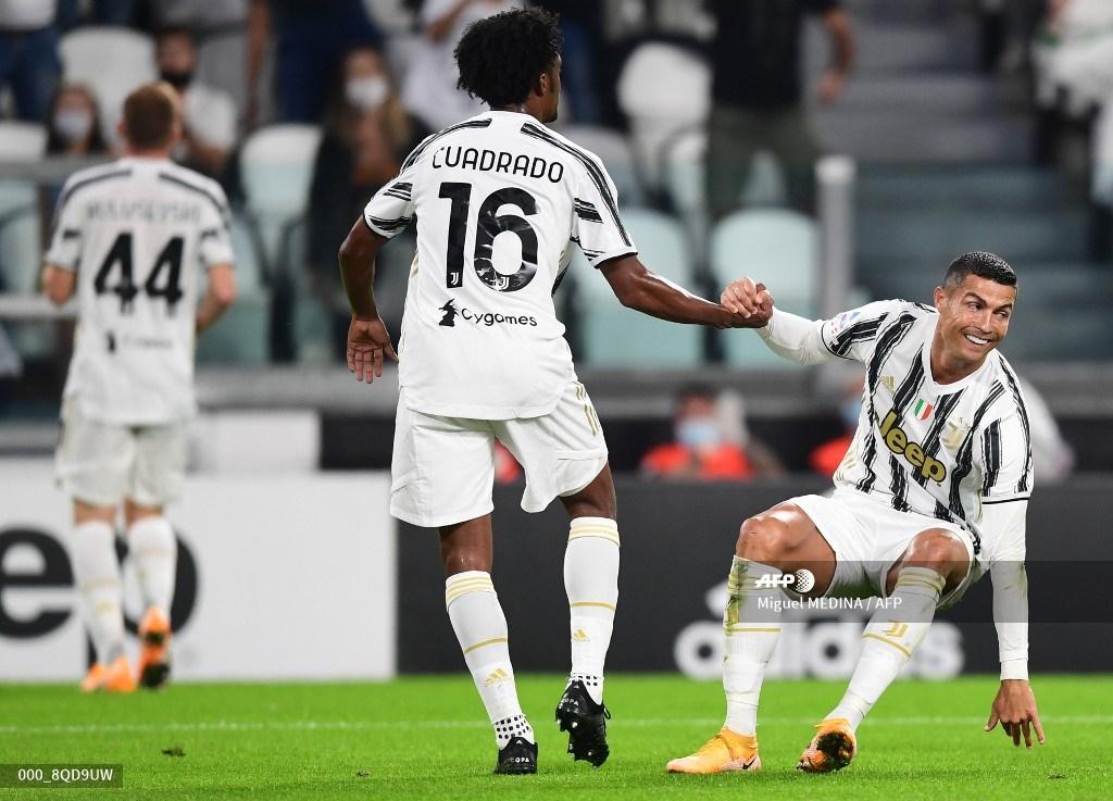 Juventus: Juan Guillermo Cuadrado en triunfo contra Sampdoria; Serie A | Antena 2