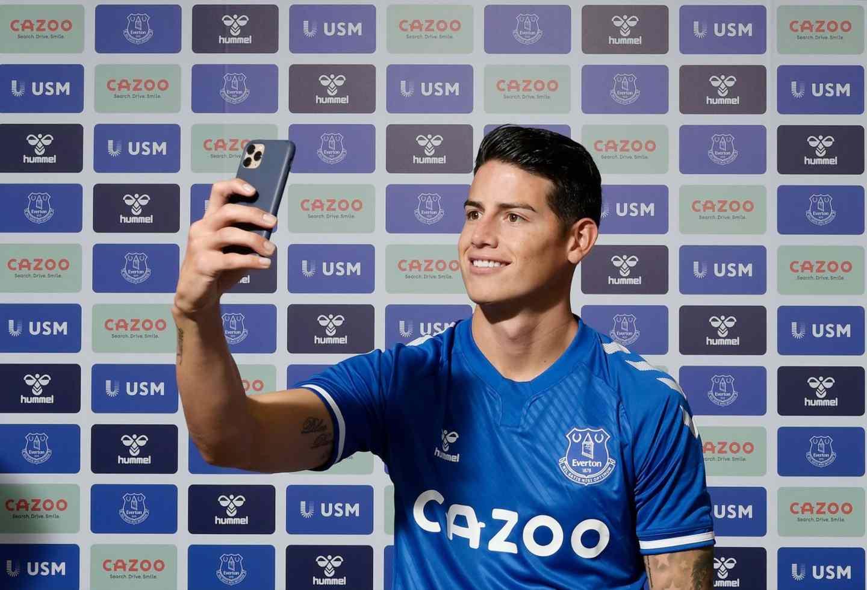 James Rodríguez: ¿cuándo debutaría con Everton? | Antena 2