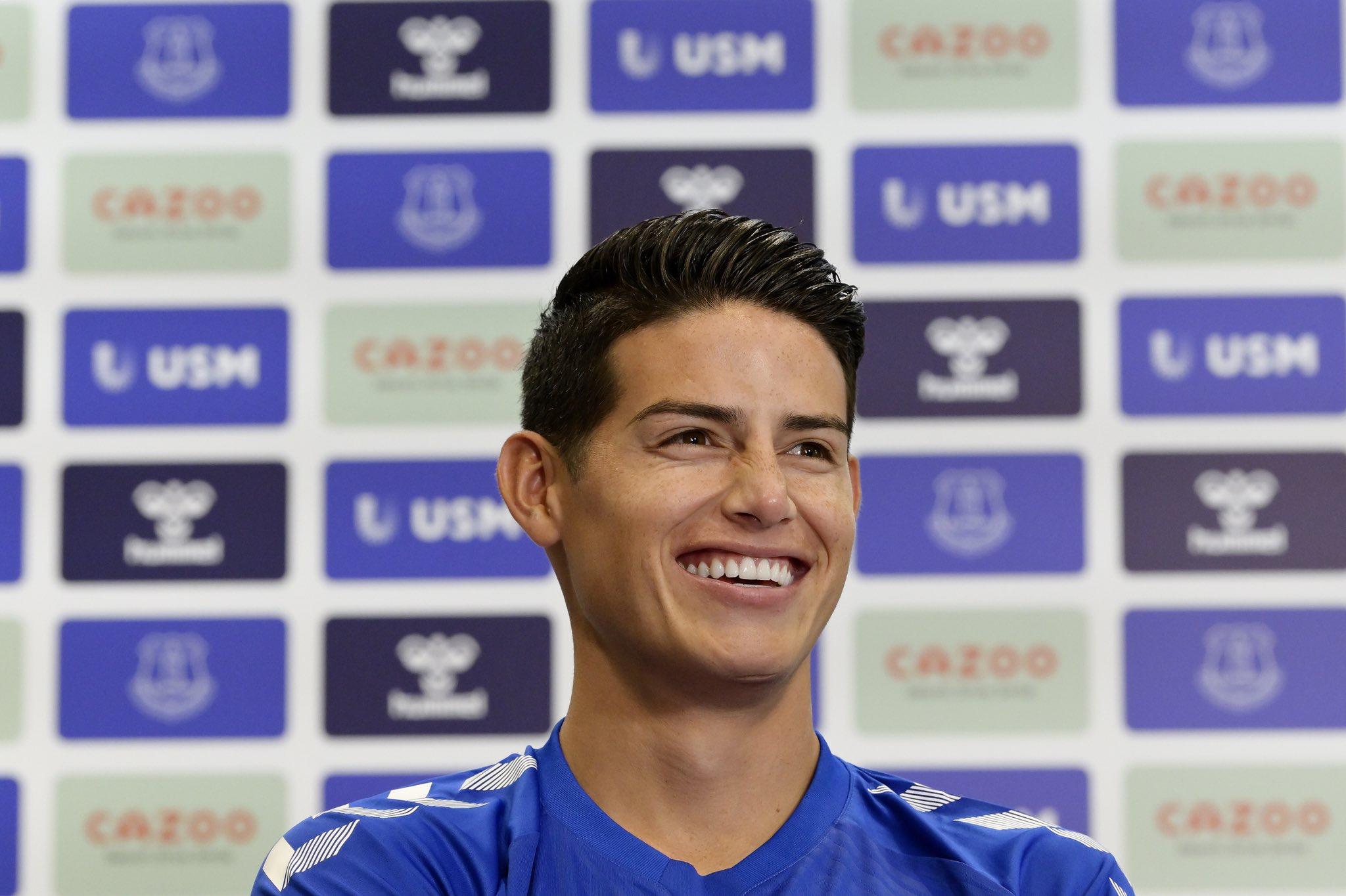 Confirmado James, Everton alista el fichaje de otro colombiano | Antena 2