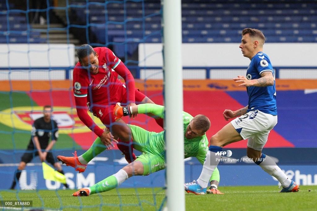 Everton vs Liverpool: terrible lesión habría sufrido Virgil van Dijk | Antena 2