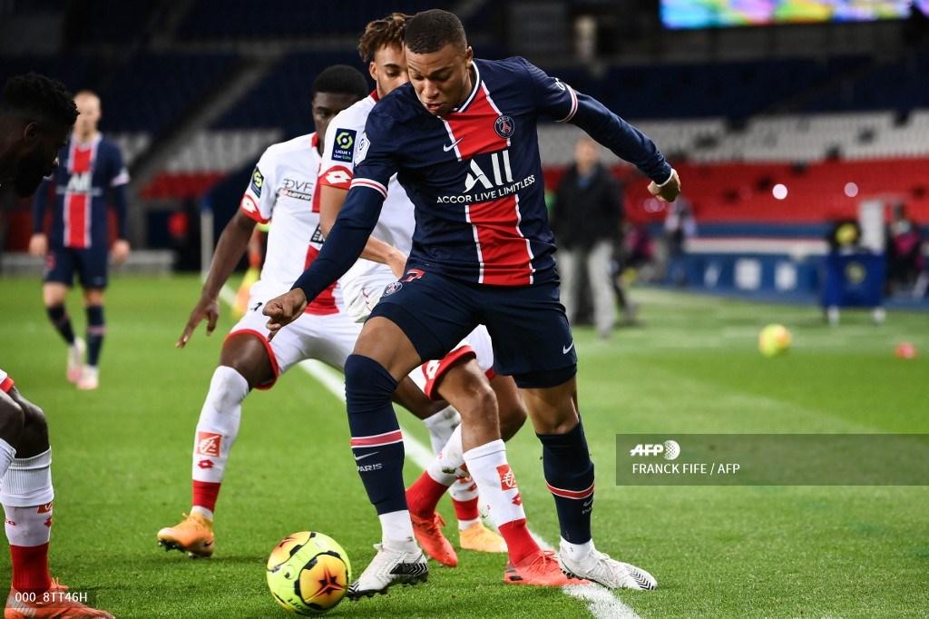 Mbappé marcó doblete en goleada de PSG sobre Montpellier   Antena 2