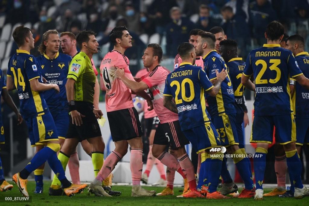 Juventus empató en la liga italiana ante Hellas Verona | Antena 2