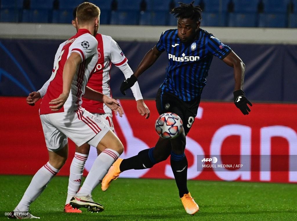 Goles Duván Zapata: Atalanta vs Ajax; Champions League, fase de grupos | Antena 2