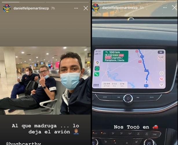 Daniel Felipe Martínez en Instagram
