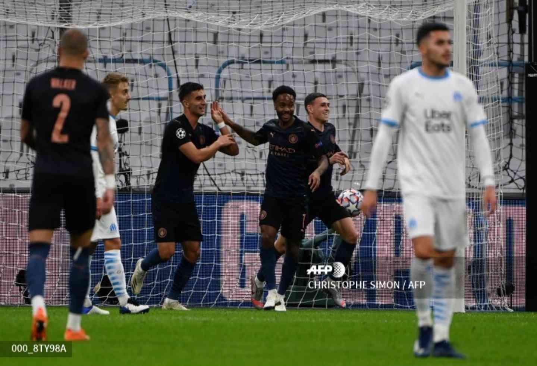 Manchester City goleó a Marsella en la segunda fecha de Champions | Antena 2