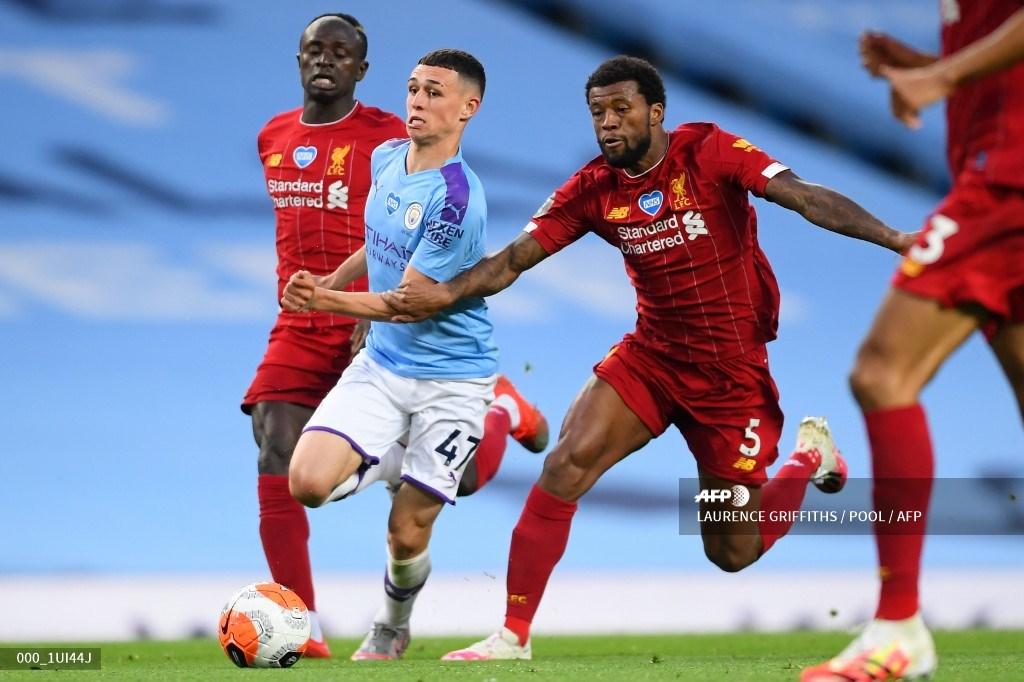 En tablas terminó el Manchester City y Liverpool | Antena 2