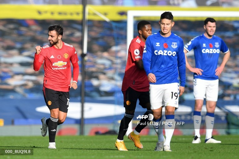 James Rodríguez recibe críticas por su nivel en el Everton vs United | Antena 2
