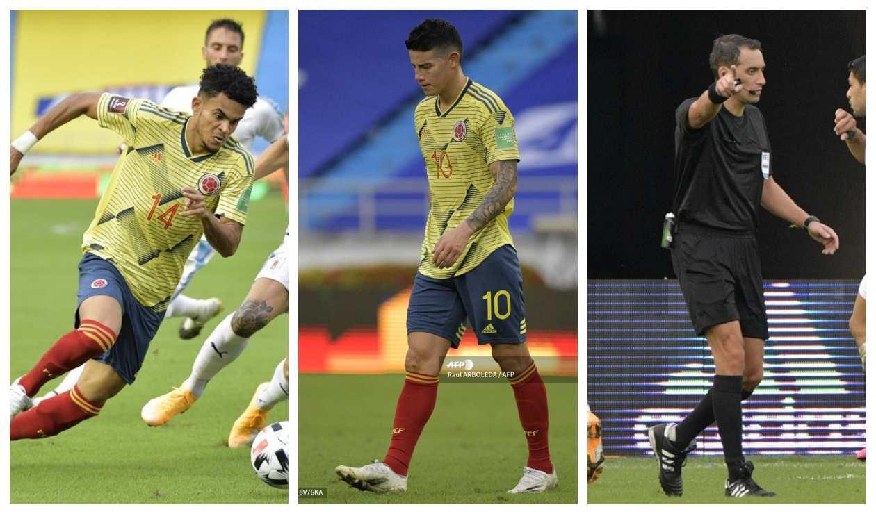 Colombia vs Uruguay: lo bueno, lo malo y lo curioso de la goleada | Antena 2