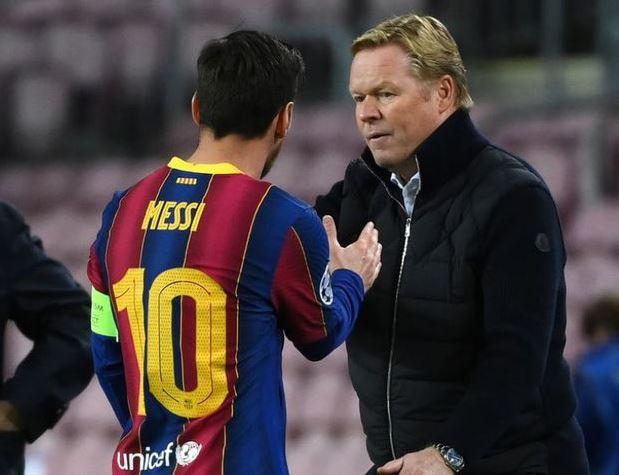 Barcelona: Koeman explicó por qué no convocó a Messi para la Champions | Antena 2