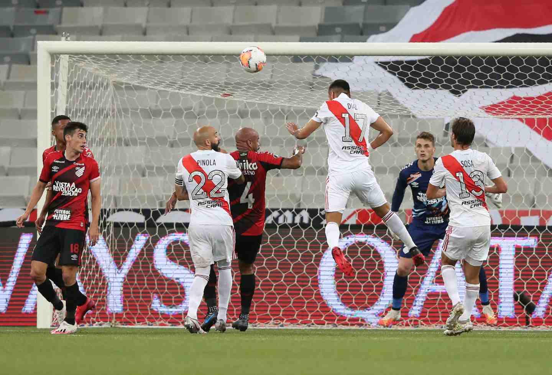 River Plate empató con Atlético Paranaense en la Copa Libertadores | Antena 2