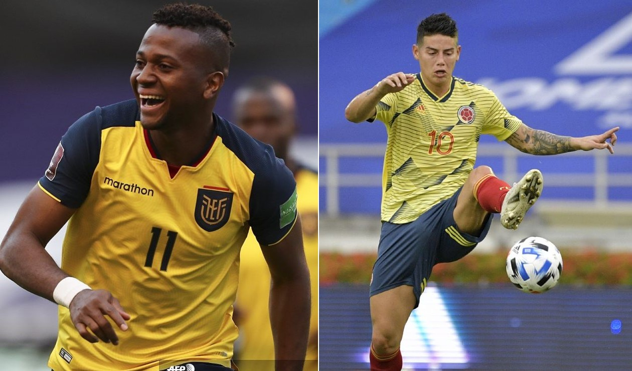 Cómo quedó Ecuador vs Colombia; resultado EN VIVO Eliminatorias   Antena 2