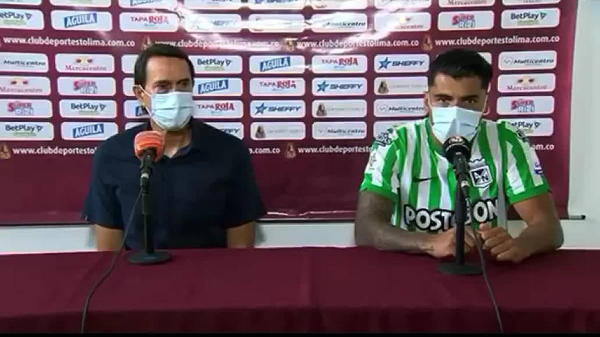 Nacional hoy: Jéfferson Duque explicó su irá tras perder con Tolima | Antena 2