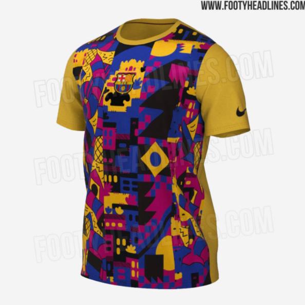 Camiseta Barcelona 2021-2022