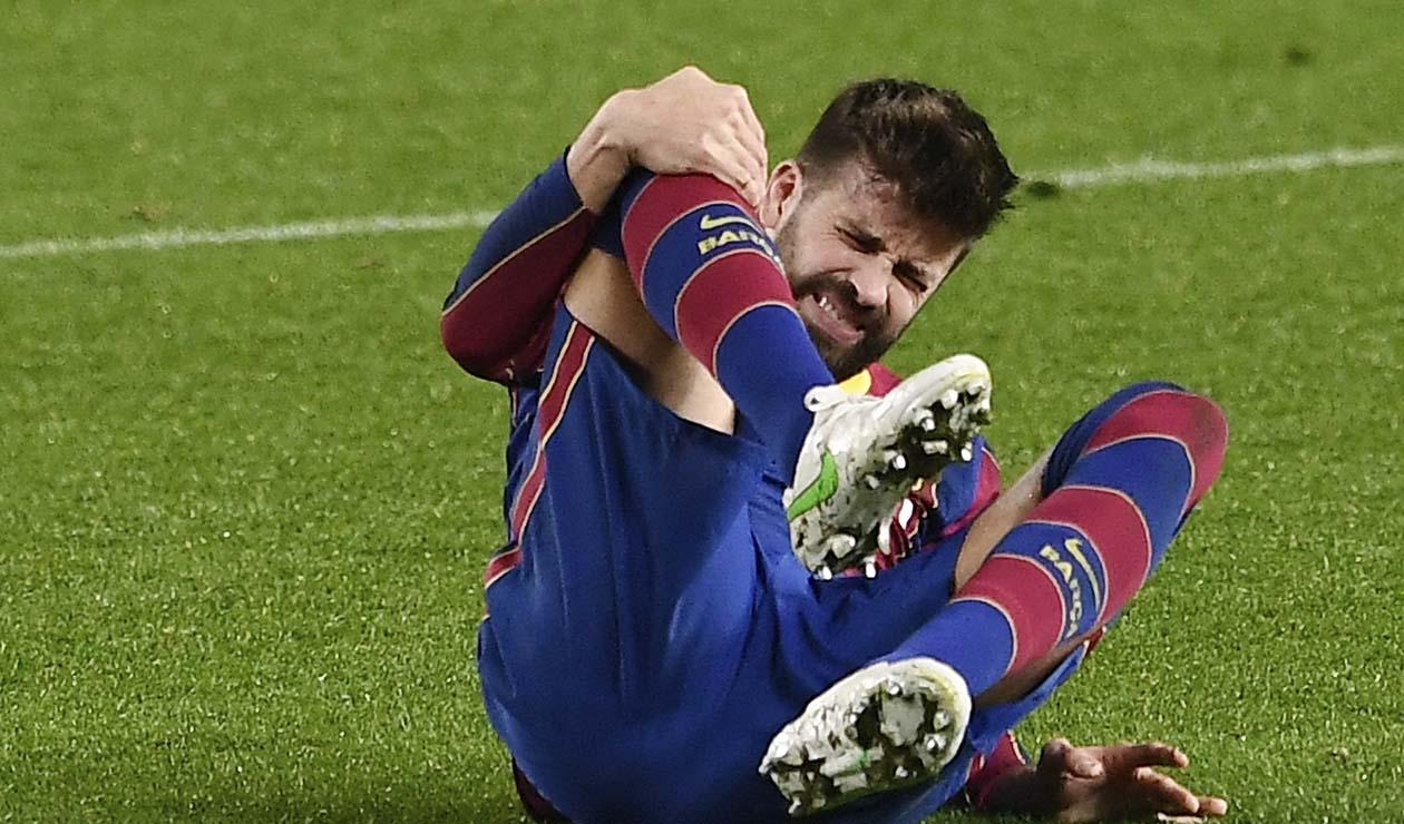Barcelona hoy: Piqué y la complicada lesión a una semana del PSG   Antena 2