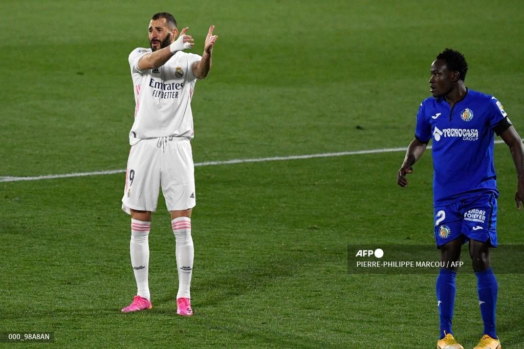 Real Madrid no pudo con Getafe y se complicó en la Liga Española   Antena 2