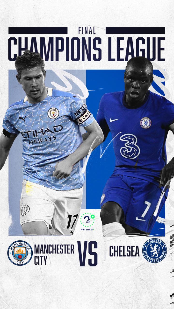 Champions League, Manchester City vs Chelsea