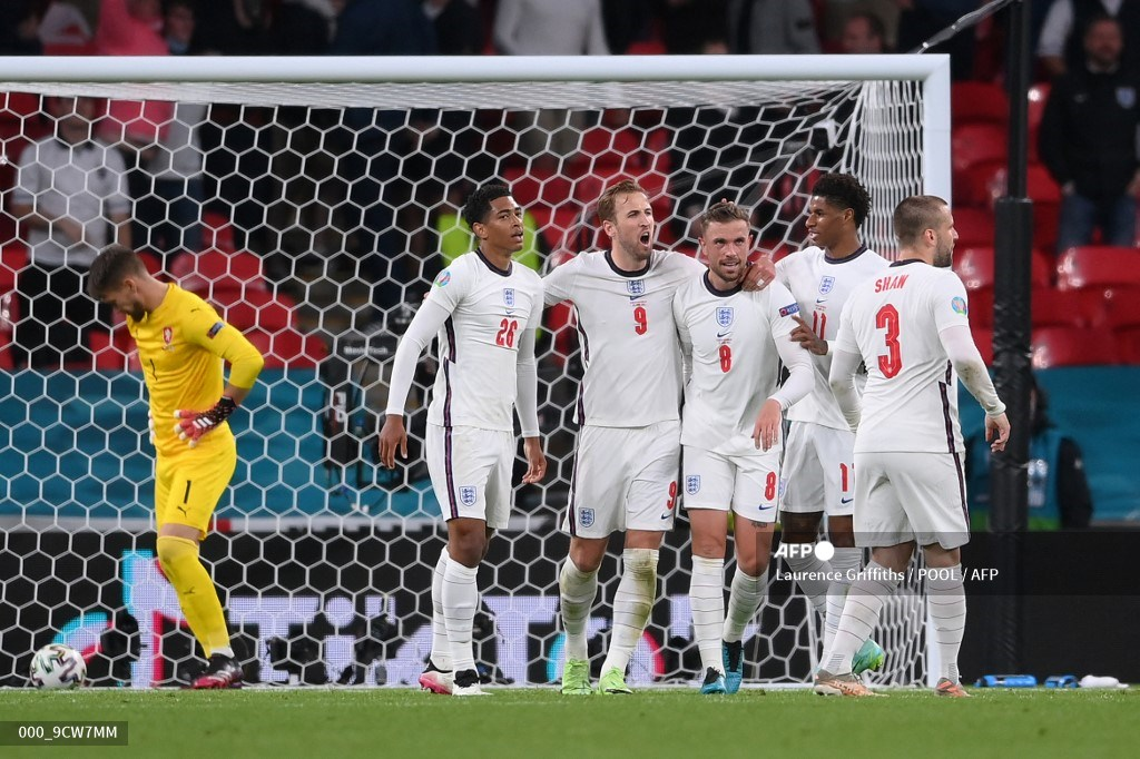 Eurocopa: Inglaterra venció a República Checa y espera en octavos | Antena 2