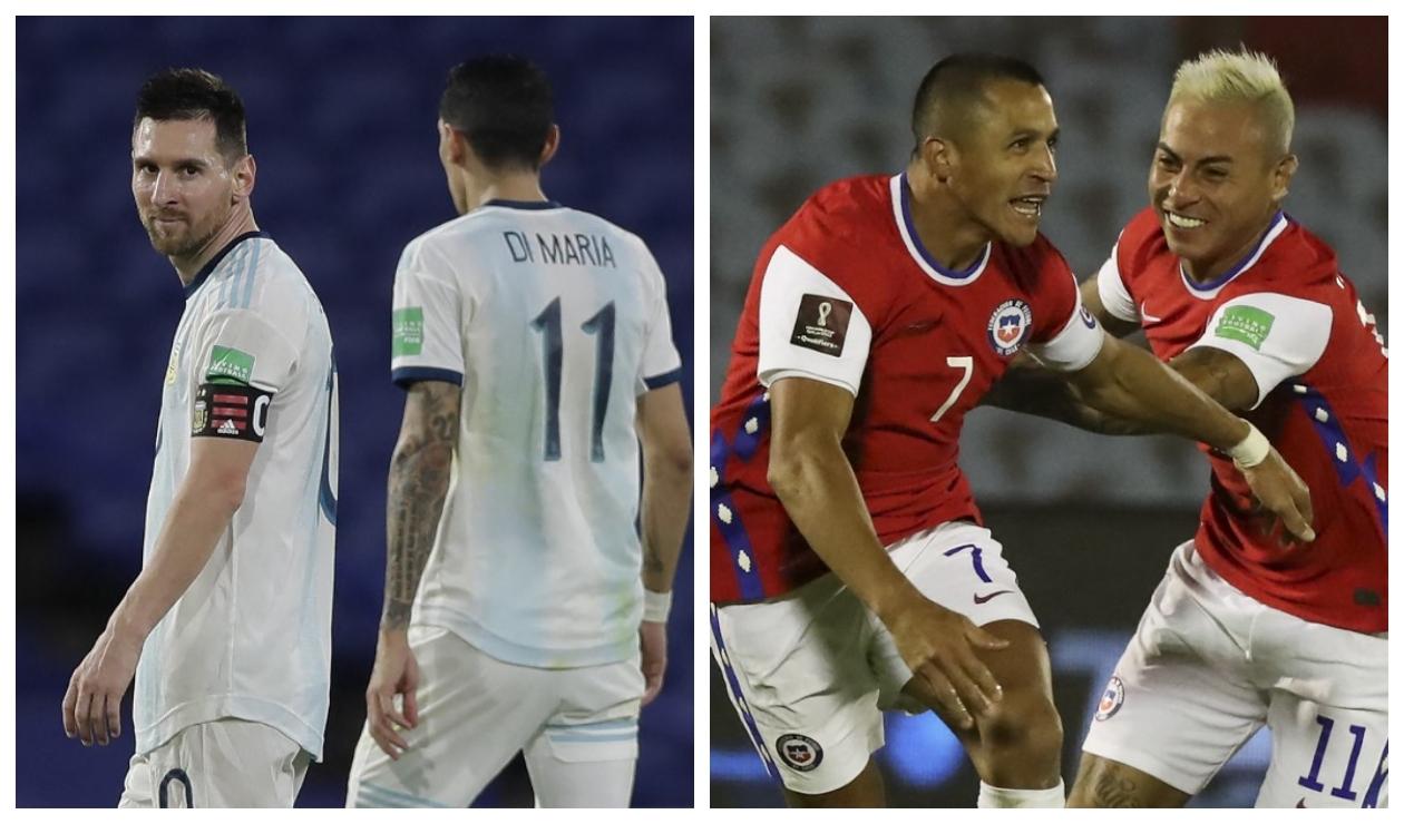 Argentina vs Chile: dónde y cómo ver el partido ONLINE GRATIS   Antena 2