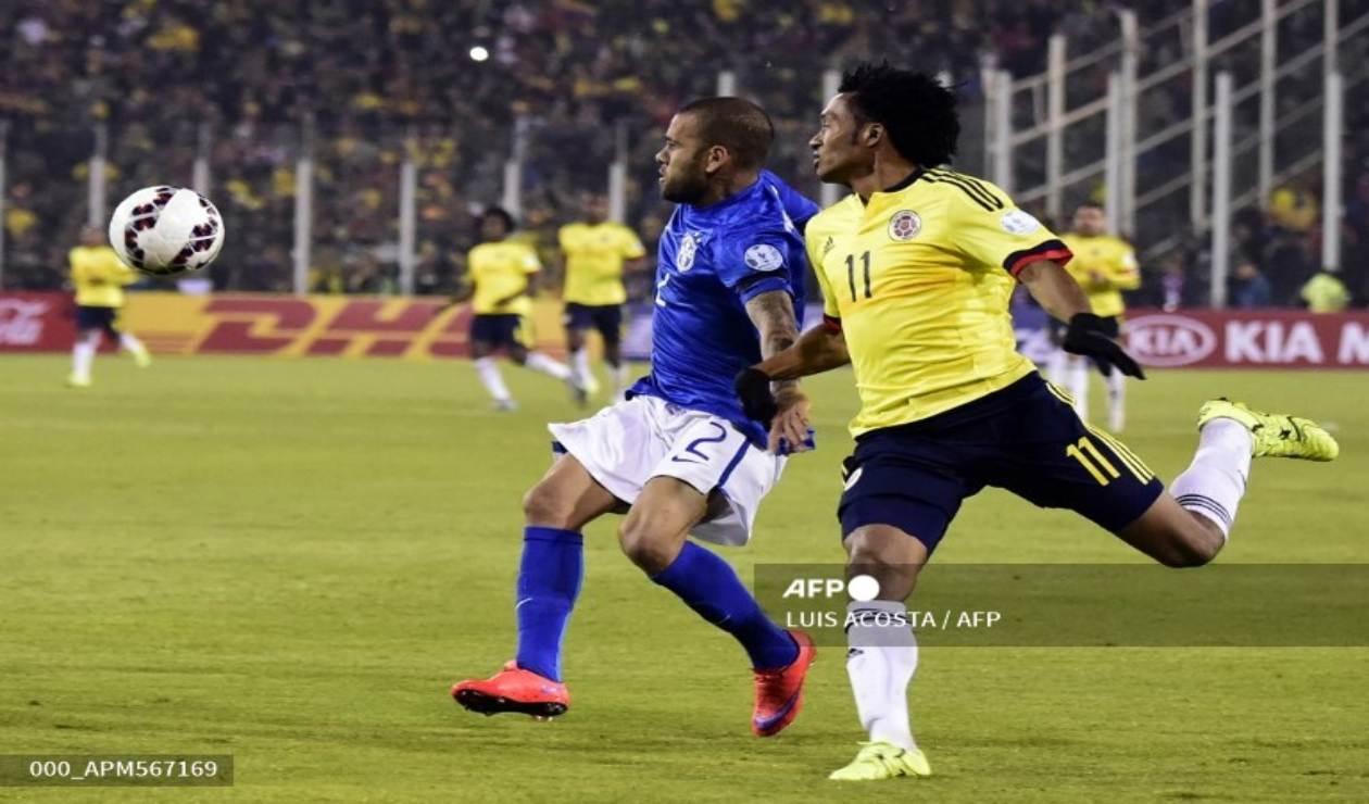 Colombia Vs. Brasil: Los que repiten de la Copa América 2015 | Antena 2